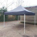 easy up tent zwart