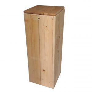 zuil-steigerhout-hout-blank